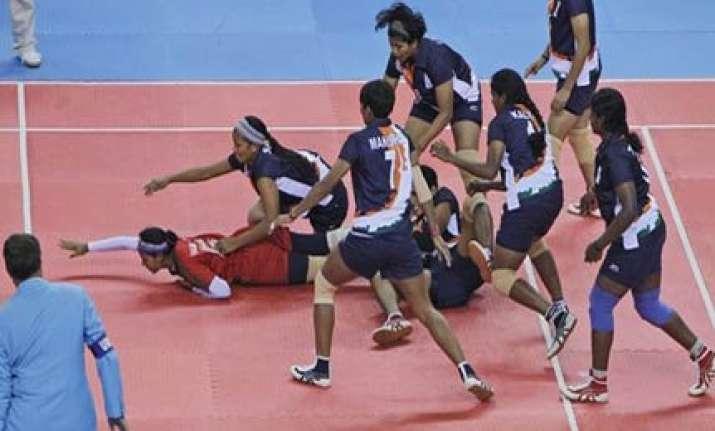 indian women s kabaddi gets asian games gold