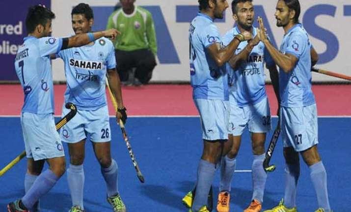 india beat japan 2 1 seal hockey series
