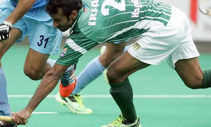 hwl pakistan lose to ireland out of olympic race