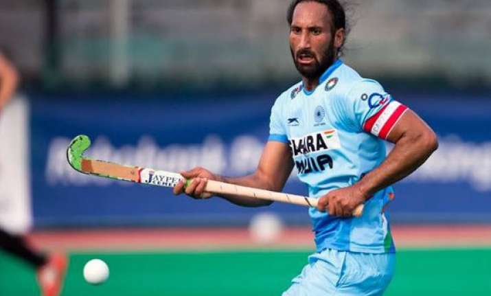sardar singh completes 200th international cap for india