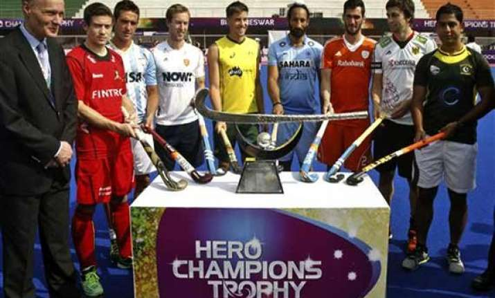 coaches taking champions trophy to develop their teams for