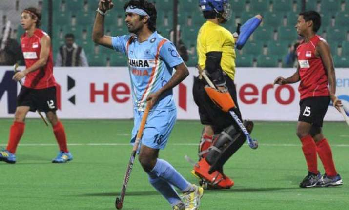 india thrash clueless singapore 15 1 in olympic qualifiers