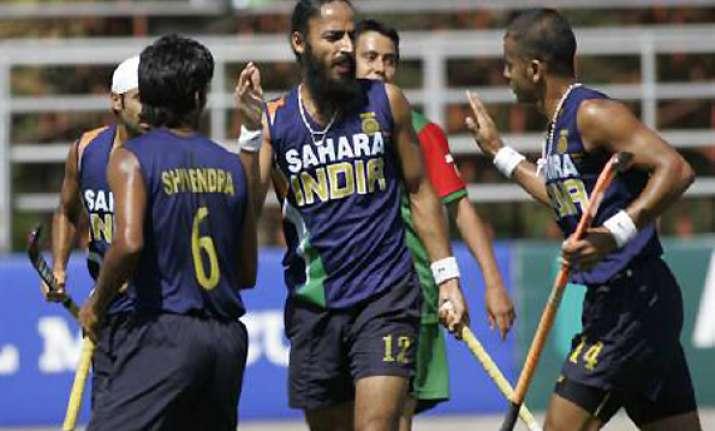 india thrash france 8 2 in friendly hockey match
