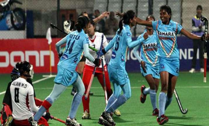 indian girls through to hockey world league round 3