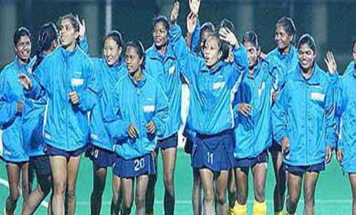 indian women s hockey team heads for ireland