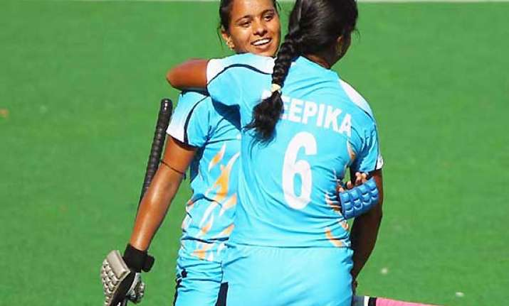 indian eves beat oz 2 1 in 2nd hockey test level series 1 1