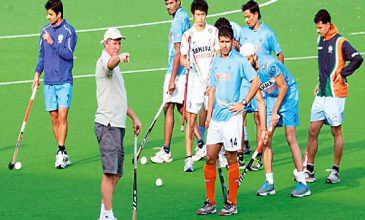 indian hockey team must play top teams regularly says coach