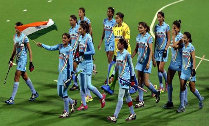 junior india girls reach hockey world cup semis