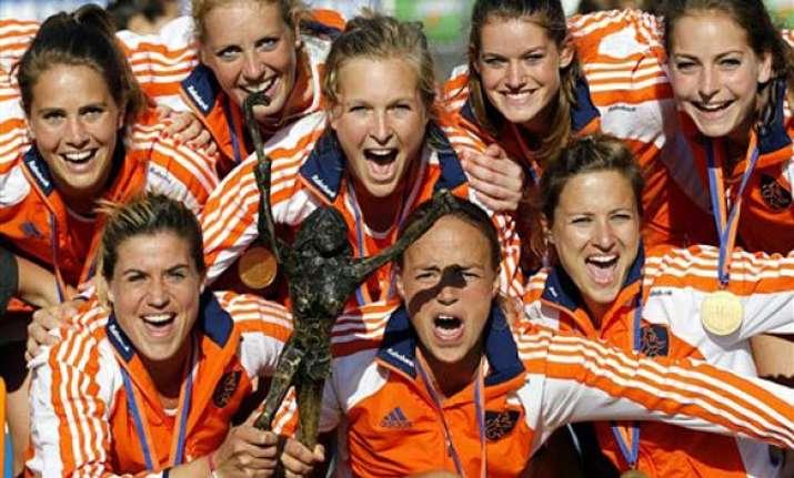 netherlands wins women s champions trophy