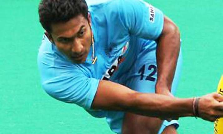 raghunath s golden goal puts india in semifinals