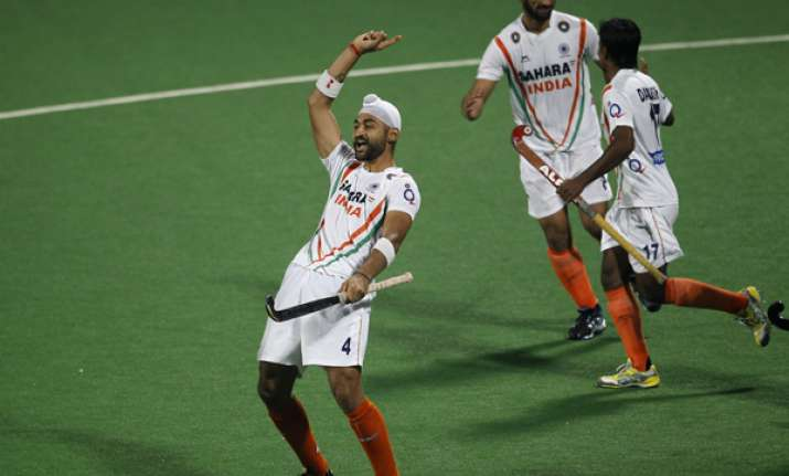 india beat france 6 2 in men s olympic hockey qualifier