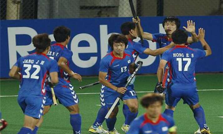 south korean men s team qualify for 2014 hockey world cup