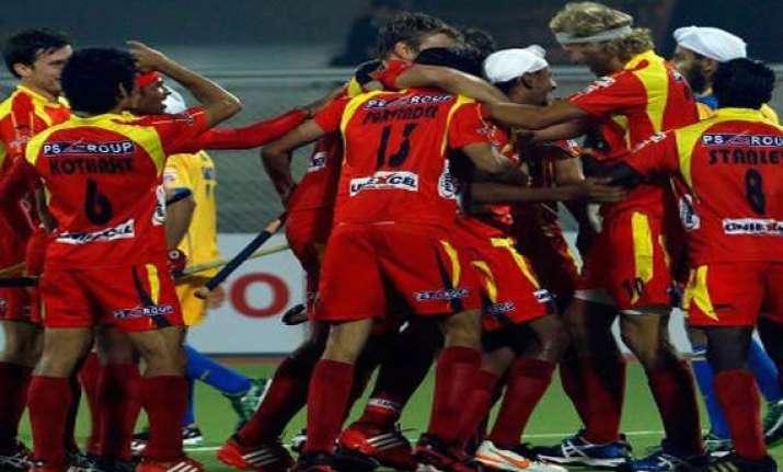 up wizards beat kalinga lancers 3 1 in hockey india league