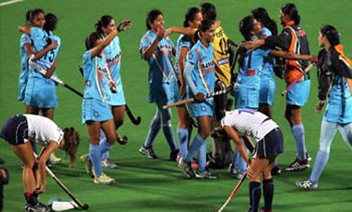 world hockey league japan snap indian women s winning streak