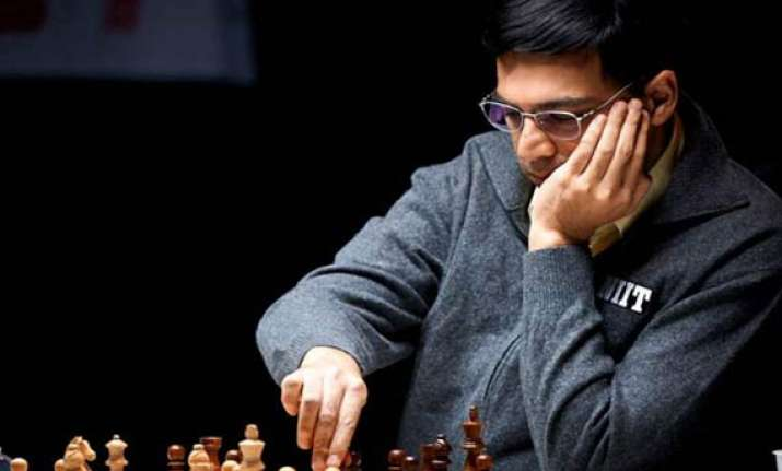 anand inches closer to title after draw with kramnik
