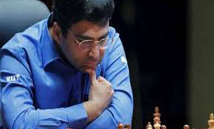 anand slips further