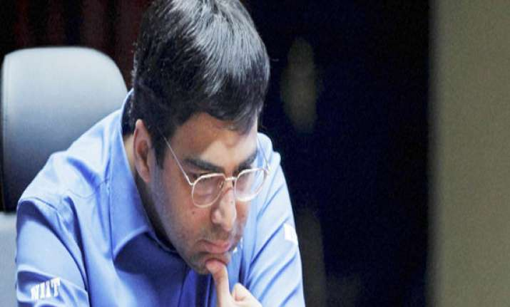 anand draws with aronian