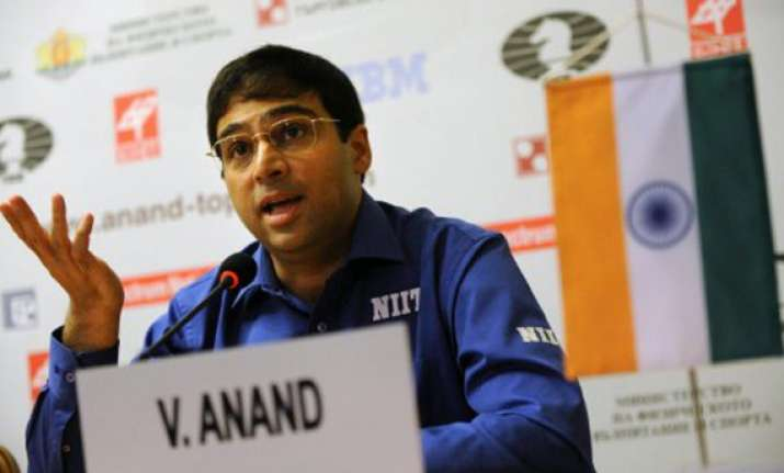 anand settles for draw finishes fifth