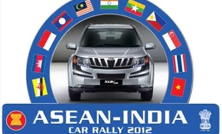 asean india car rally kicks off in indonesia
