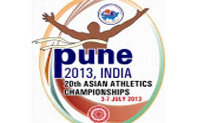 asian athletics championships in pune from july 3
