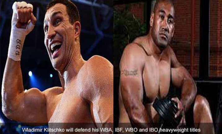 australia s leapai up next for wladimir klitschko