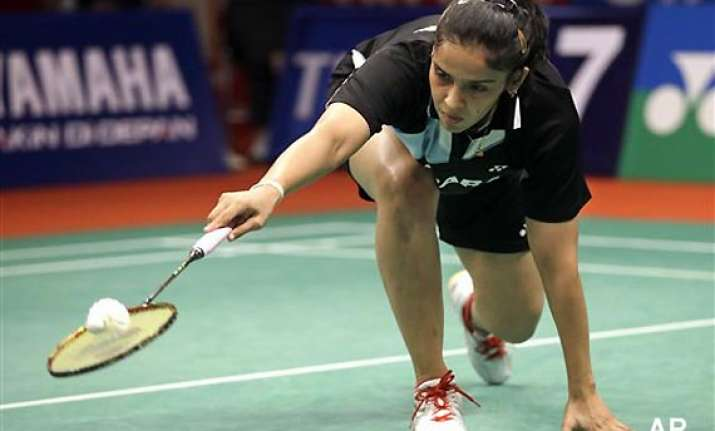 badminton saina loses to schenk in indonesia open semifinal