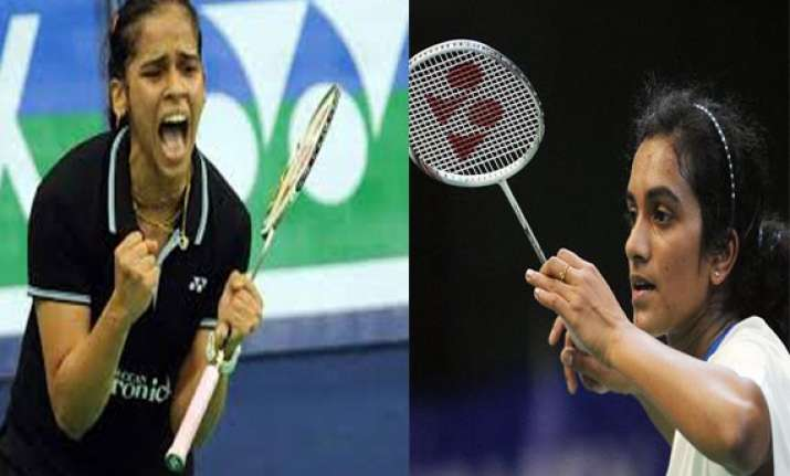 badminton saina sindhu kashyap in prequarters in world