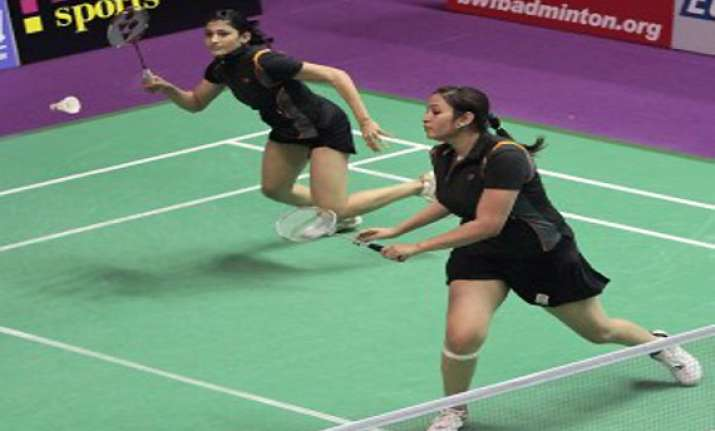 bitburger open jwala ashwini crashed out of tournament