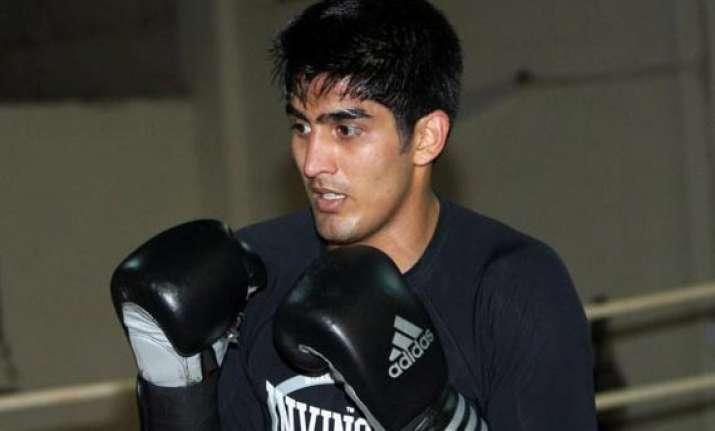 boxing vijender nanao singh selected for world championships