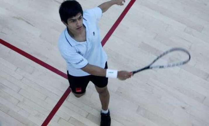 cwg ghosal loses to willstrop in men s squash semis