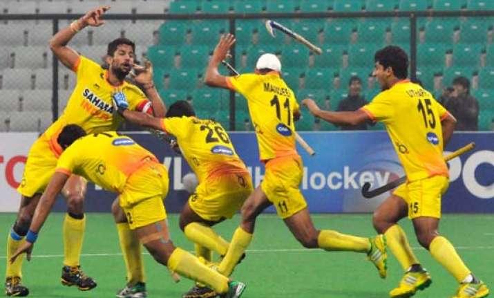 cwg 2014 indian men thrash scotland 6 2 in hockey