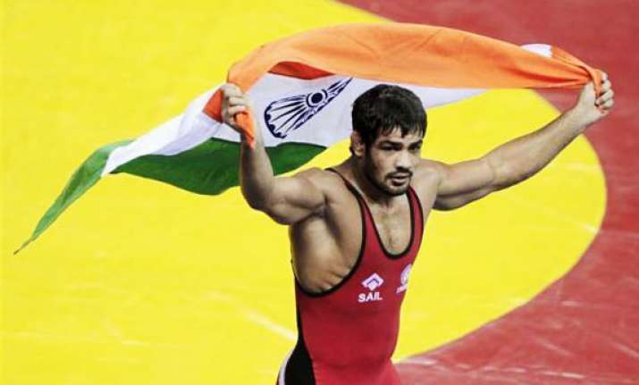 cwg 2014 india eyes four gold medals from wrestlers