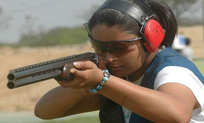 cwg 2014 indian shooter shreyashi singh wins silver in the