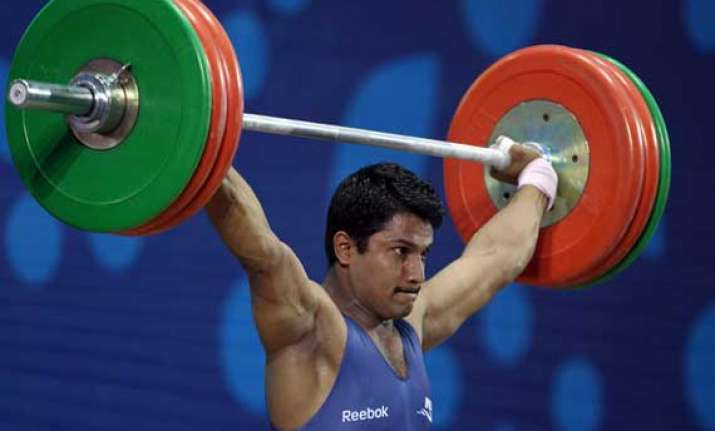 cwg indian weightlifter chandrakant mali gets bronze