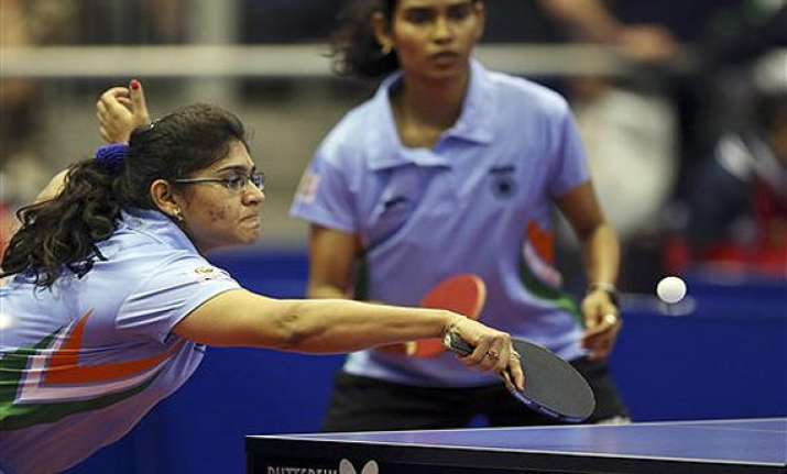 cwg 2014 indian women paddlers miss out on bronze