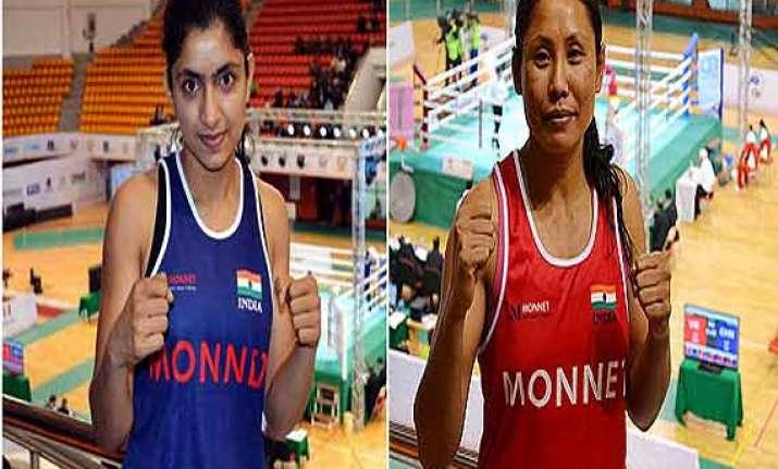 cwg five indian boxers reach cwg semis