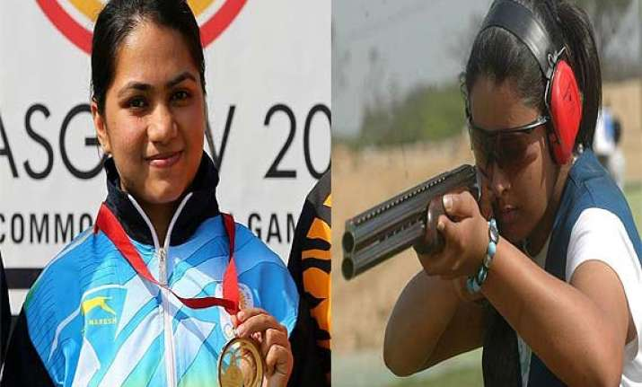 cwg 2014 shooters weightlifters shine for india at glasgow