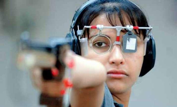 cwg sidhu goel qualify for women s 10m air pistol finals