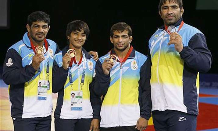 cwg 2014 indian medal winners at 2014 commonwealth games