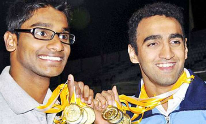 d souza breaks national record karnataka aquatic champions