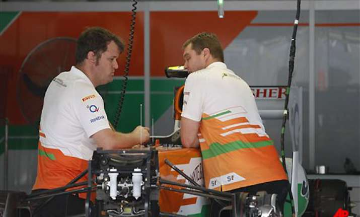 force india withdraws from second bahrain grand prix