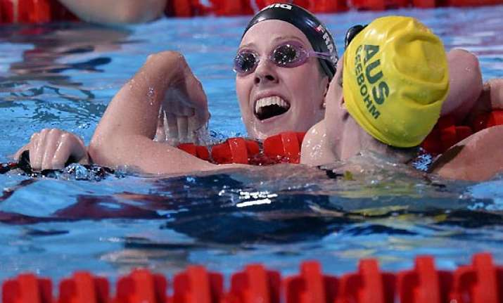 franklin gives up her quest to win 8 golds at world