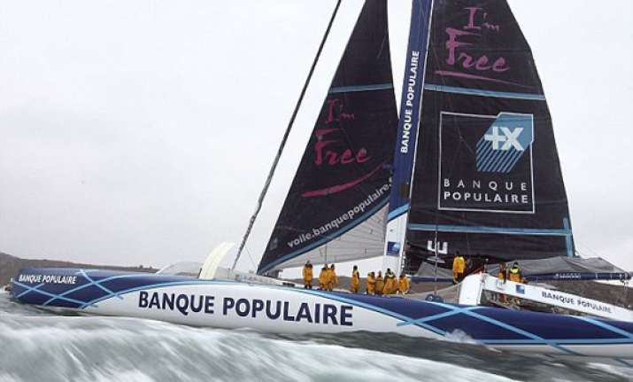 french team breaks world record circumnavigates earth in a