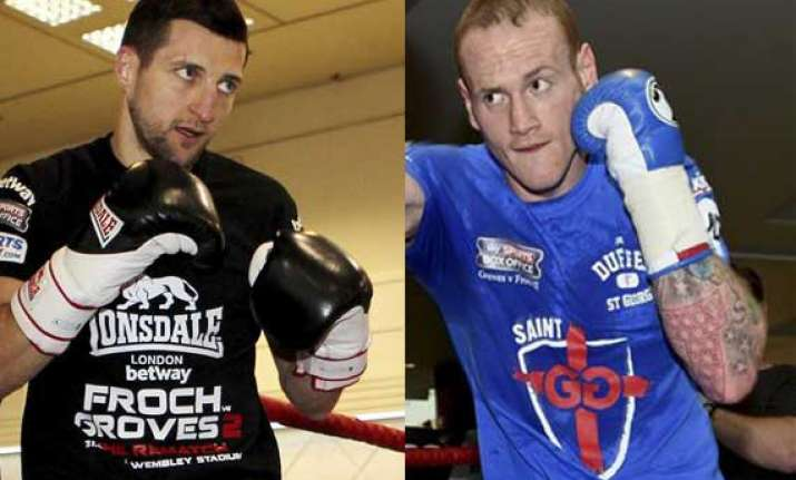 froch groves has ingredients of british classic