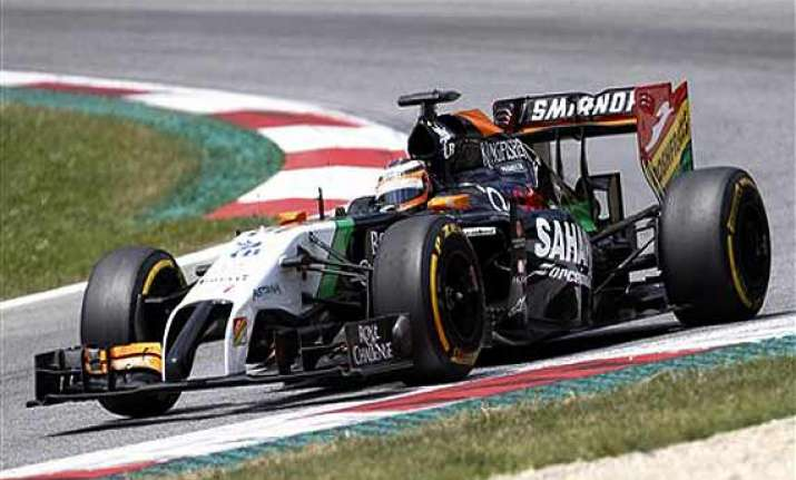 german gp force india drivers to start 9th 10th