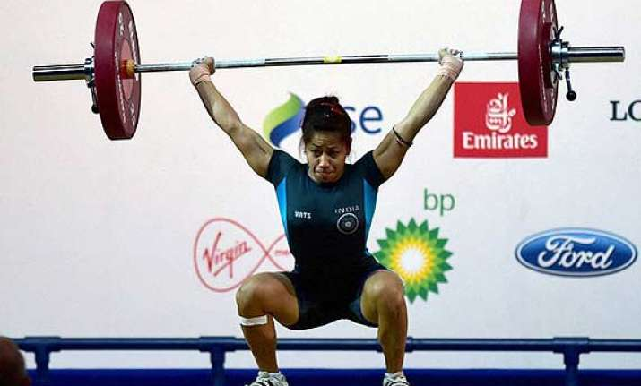 glasgow commonwealth lifters sukhen sanjita win gold as