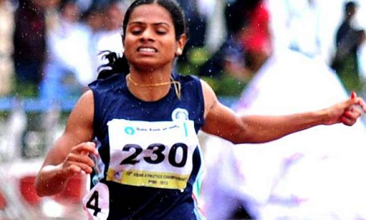 government assures help to athlete dutee chand