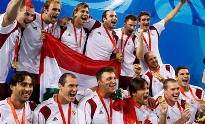 hungary aiming for 4th straight water polo gold