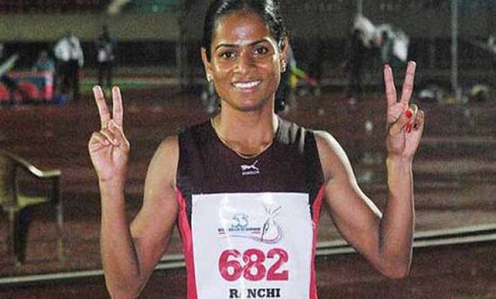 i am shattered want to play again says athlete dutee chand