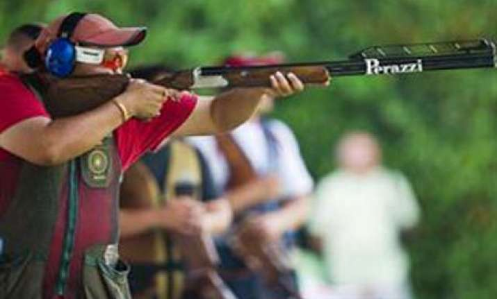 men s trap team fetches bronze in asian games